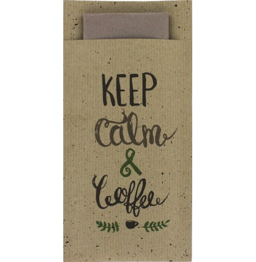 Pochette Royal Keep Calm &...
